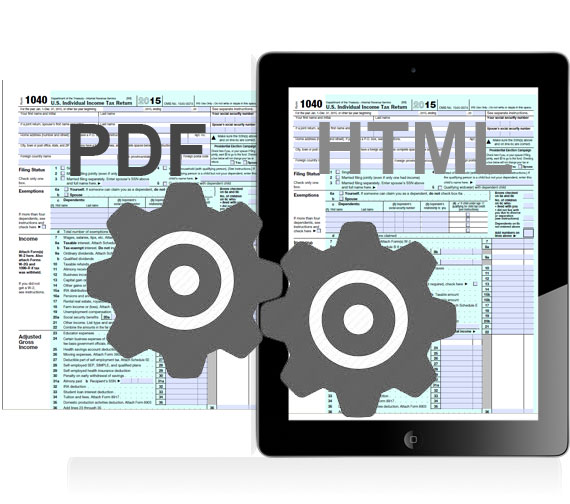 PDF to HTML Form Converter